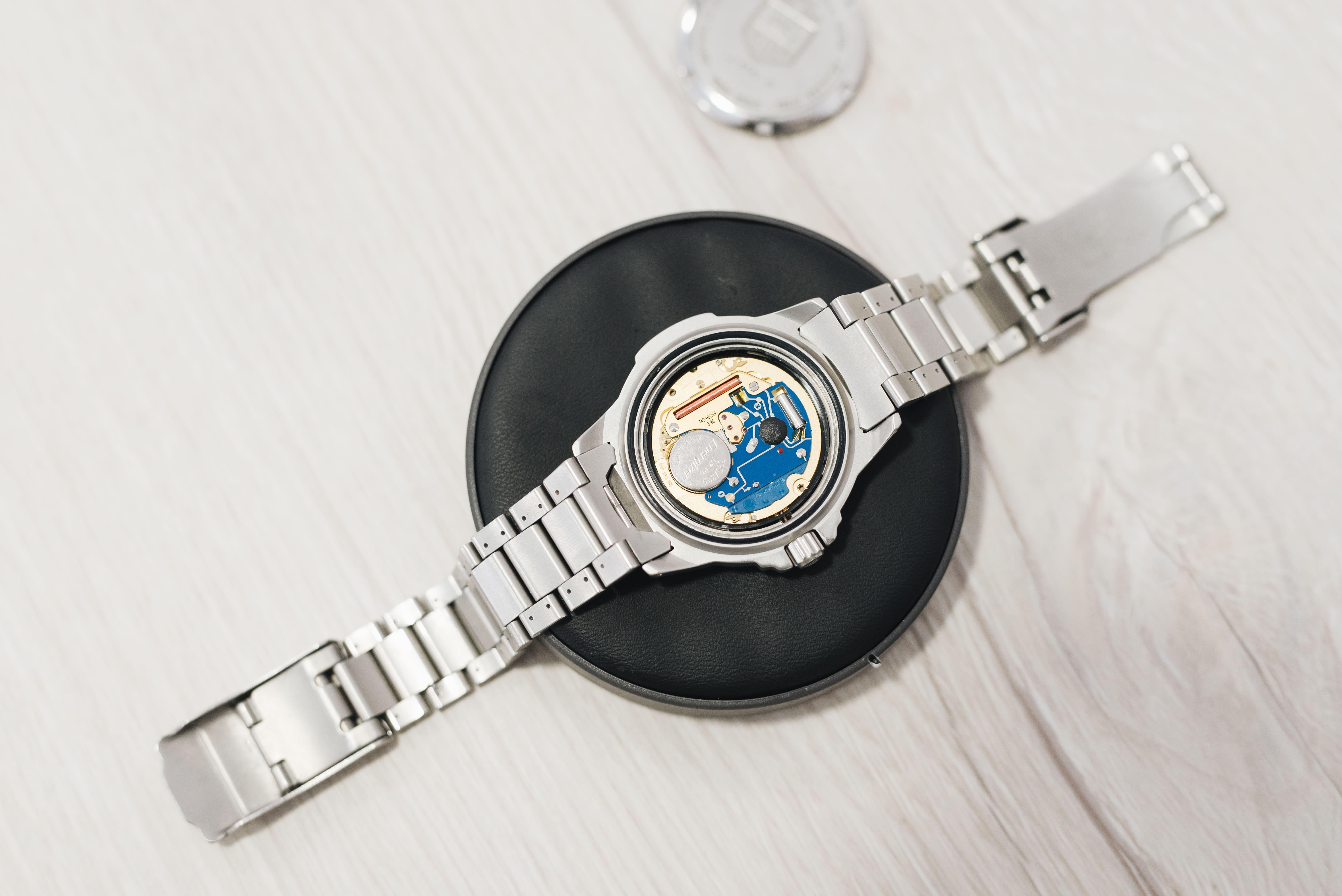 reparación de relojes de cuarzo