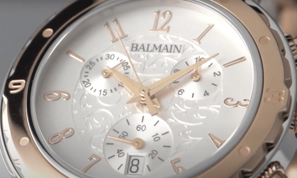 Reparación de relojes automáticos Balmain Barcelona