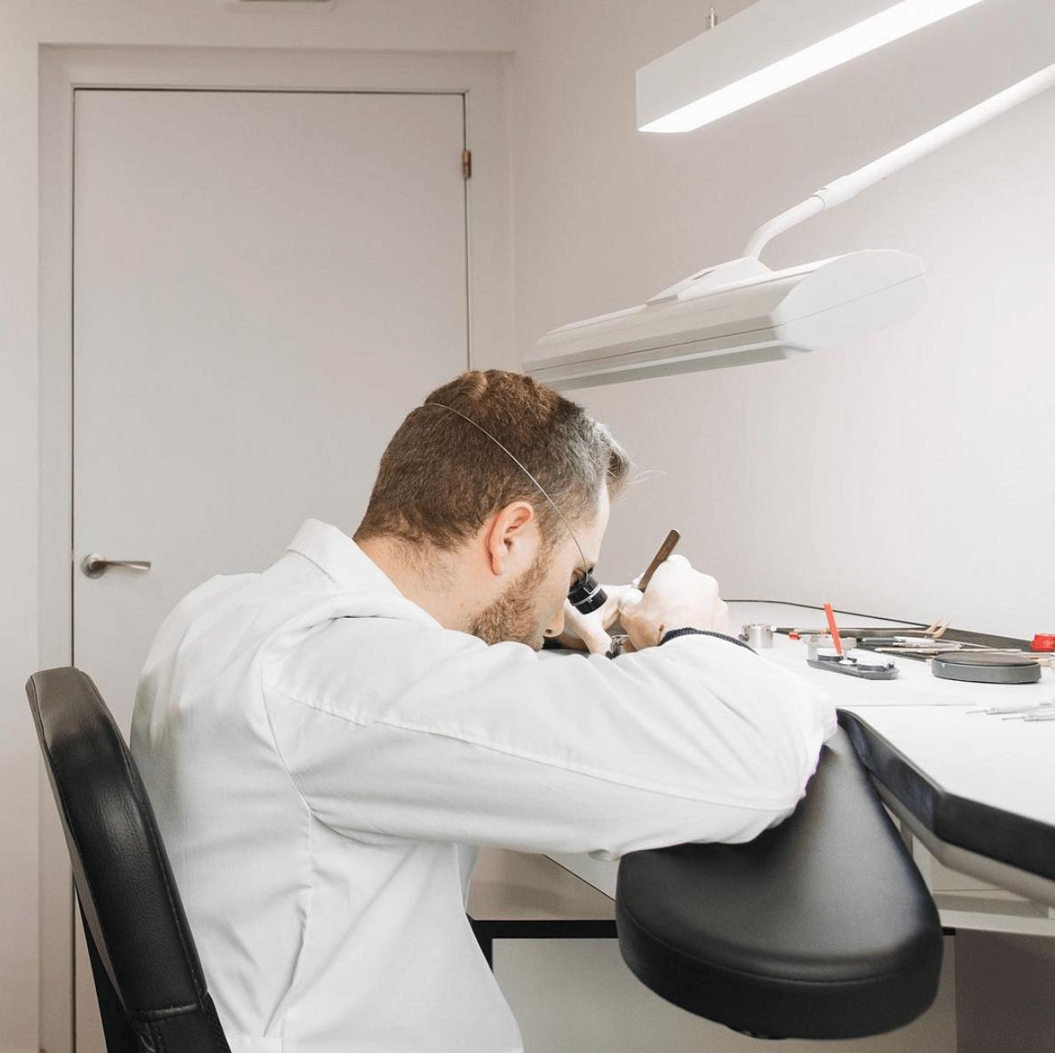 taller de relojería en barcelona