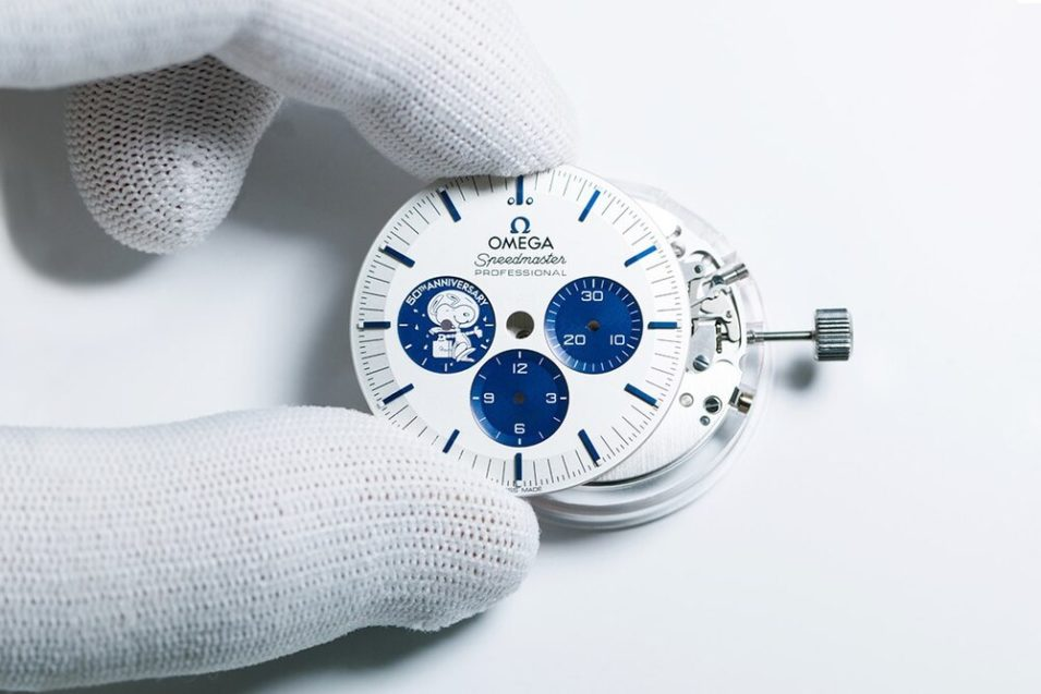 taller de relojeria oficial omega
