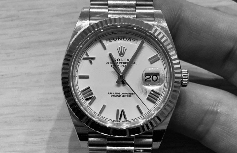Mantenimiento relojes de alta gama